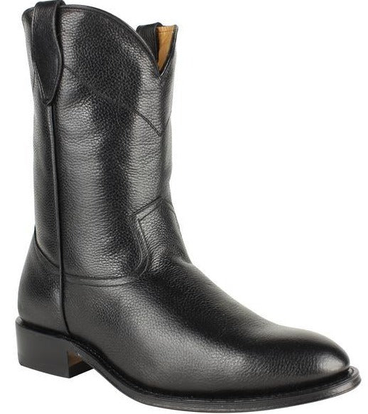 DUQUE DI GALLIANO Men's Black Roper Boots