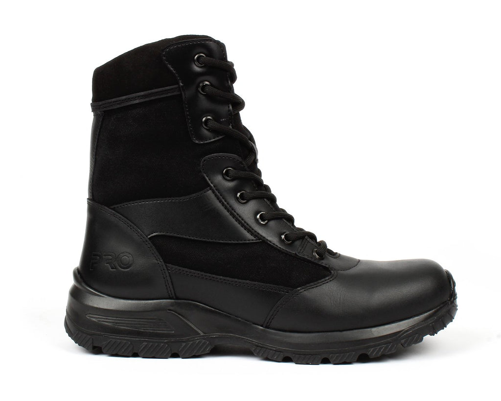 BONANZA Men's Black Tactical Work Boot