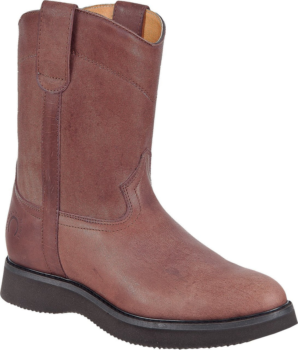 "TIERRA BLANCA Men's 10"" Brown Wellington Work Boots"