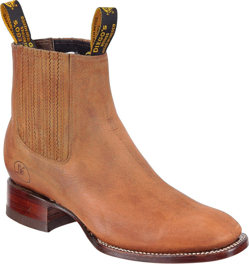 DIEGO'S Men's Chedron Ankle Boots - Rodeo Toe