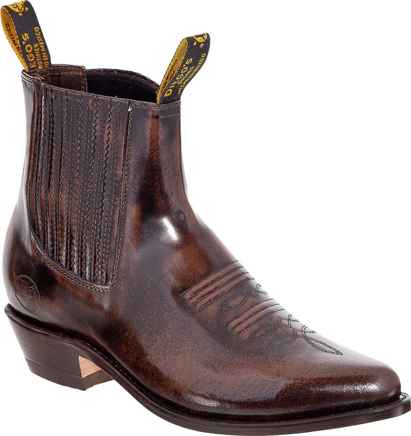 DIEGO'S Men's Brown Camaleon Ankle Boots