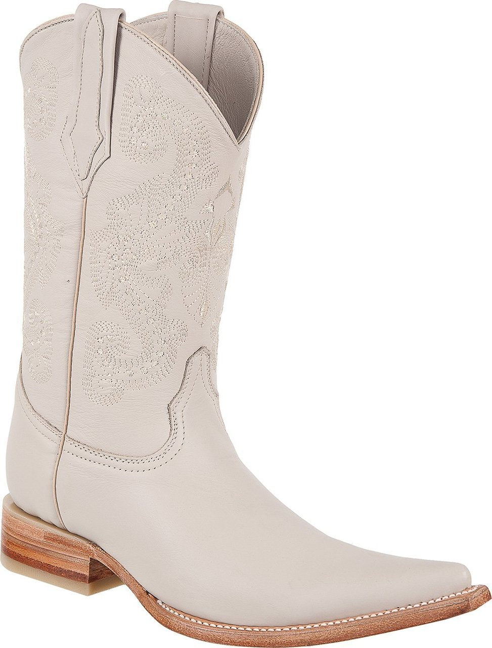 TIERRA BLANCA Men's Bone Boots - Ch Toe