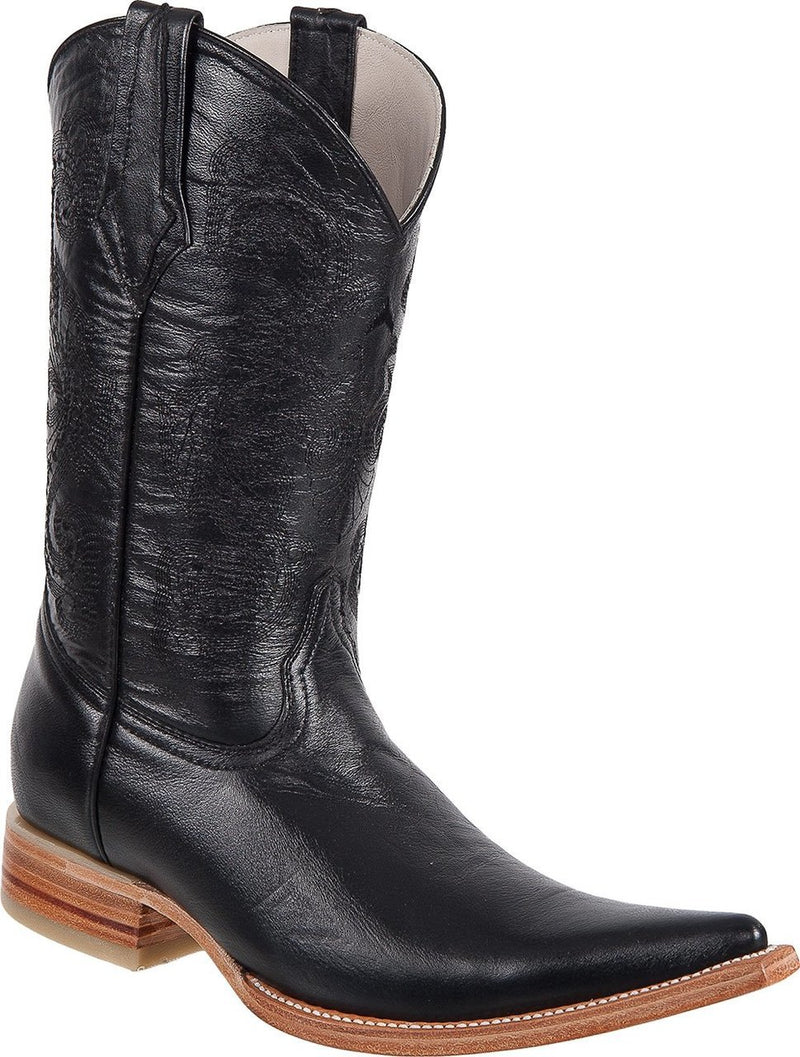 TIERRA BLANCA Men's Black Boots - Ch Toe