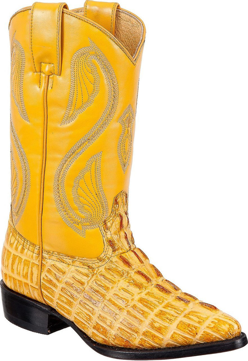 TIERRA BLANCA Youth Buttercup Crocodile Print Boots