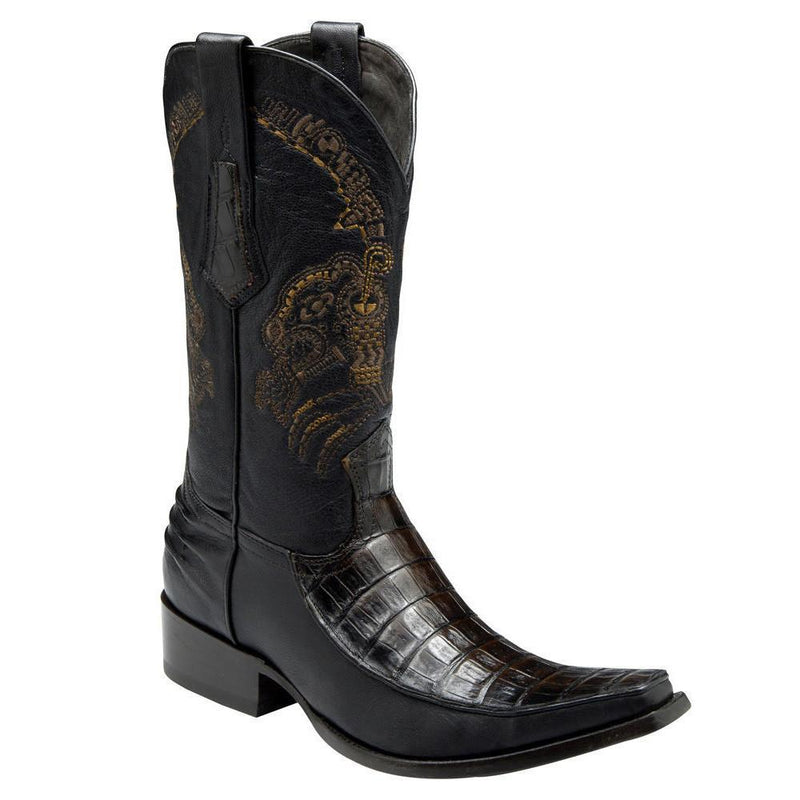 CUADRA Men's Extasis Caiman Belly Exotic Boots- Square Toe