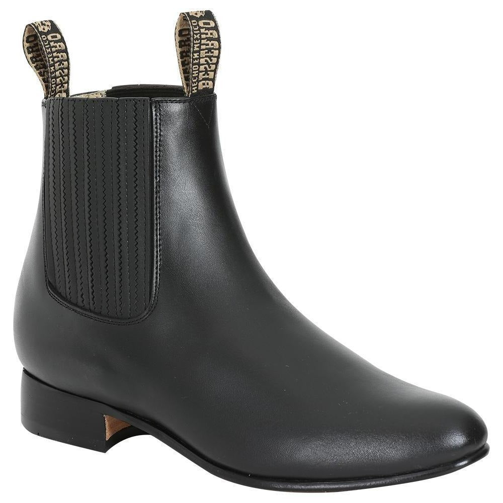 EL BESSERRO Men's Black Ankle Boots