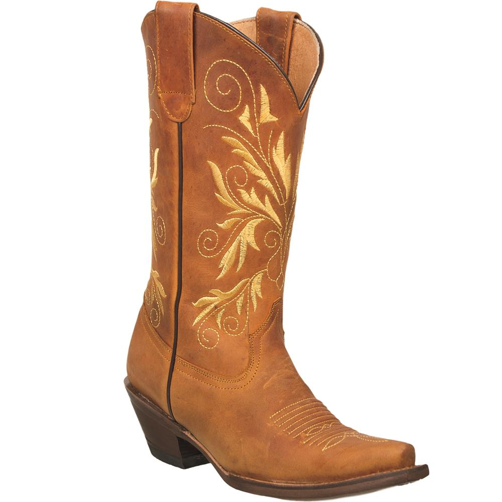 QUINCY Women's Chedron Western Boots - Snip Toe