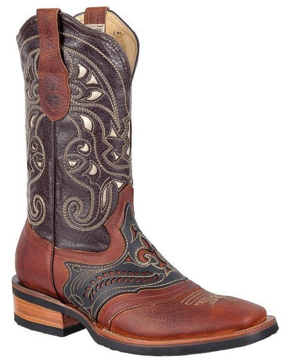 BLACK STONE Men's Chedron Laser Rodeo Boots