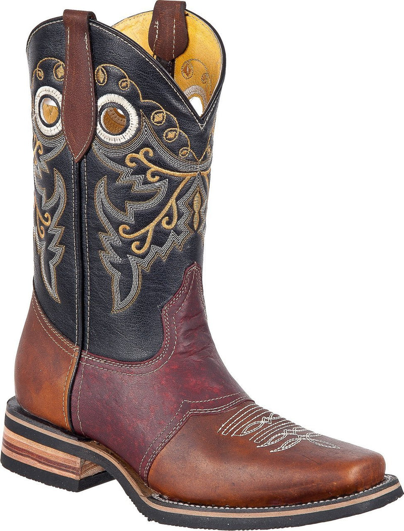TIERRA BLANCA Men's Roble Chedron Rodeo Boots