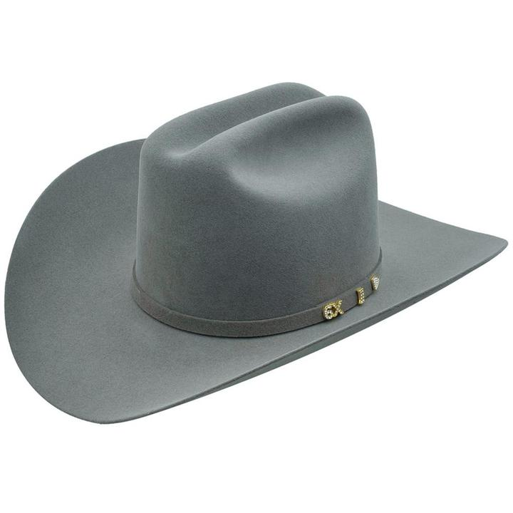 SERRATELLI Men's Puty 6X Beaver Felt Cowboy Hat