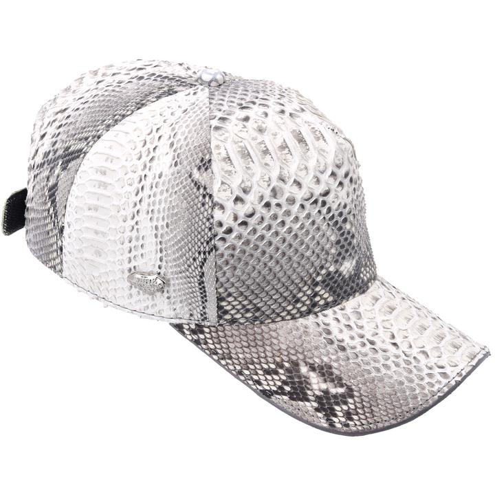 WHITE DIAMOND Natural Phyton Cap