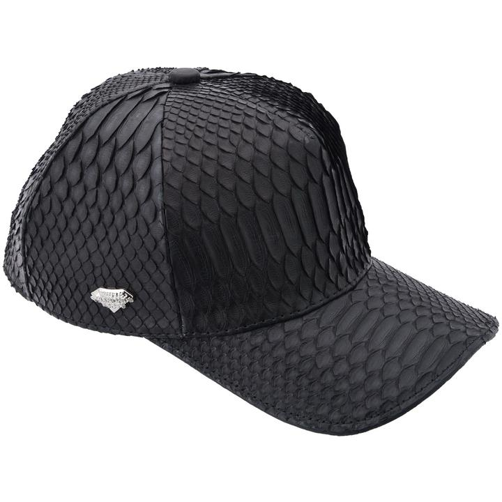 WHITE DIAMOND Black Phyton Cap