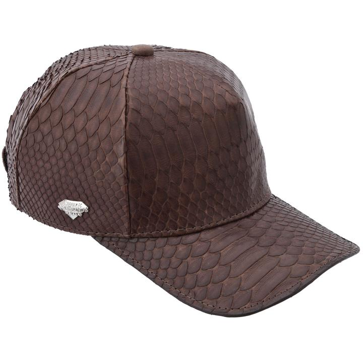 WHITE DIAMOND Brown Phyton Cap
