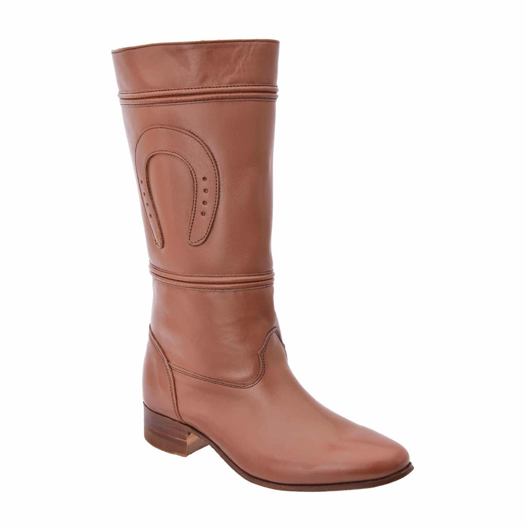 WHITE DIAMOND Women's Tabaco Equestrian Boots - Escaramuza