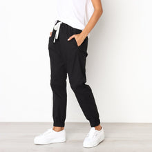 Load image into Gallery viewer, Casual Loose Drawstring Ankle Banded Pants