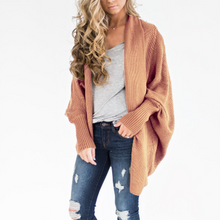 Load image into Gallery viewer, Fashion Plain Long Sleeve Cardigans