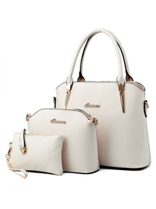Three Pieces Classic Shell Bag Shoulder Bag