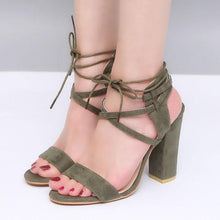 Load image into Gallery viewer, Elegant Strap Sandals Peep Toe Shoes
