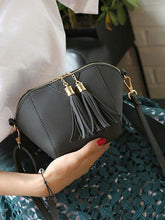 Load image into Gallery viewer, Decortive Tassel Plain  Clutches For Women