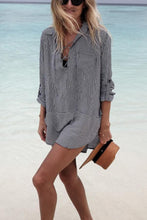 Load image into Gallery viewer, Bikini Long Sleeves Vacation Dress Cover Ups