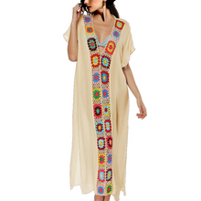 Load image into Gallery viewer, Fashion Loose Floral Printed Beach Maxi Dress