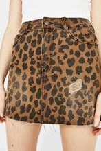 Load image into Gallery viewer, Fashion Leopard Printed Slim Fit Skirt