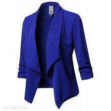 Load image into Gallery viewer, Fashion Slim Fit Plain Suit Outwear