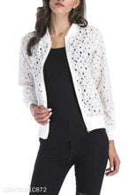 Load image into Gallery viewer, Fashion Casual Special Loose Lace Hollow Out Long Sleeve Jacket Cardigan