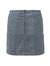 Load image into Gallery viewer, Temperament Woolen Asymmetrical Skirt