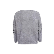 Load image into Gallery viewer, Fashion V-Neck Pullover Sweater