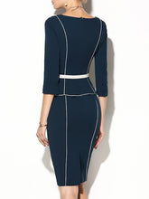 Load image into Gallery viewer, Sweet Heart  Plain Bodycon Dress