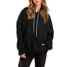 Load image into Gallery viewer, Fashion Loose Plain Thicken Hoodie With Hat
