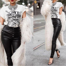 Load image into Gallery viewer, Sexy Fashion Plain Faux Fur Keep Warm Long Coat