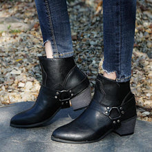 Load image into Gallery viewer, Fashion Boots With Zipper Women Boots