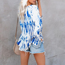 Load image into Gallery viewer, Printed Strap One-Shoulder Long Sleeve Top