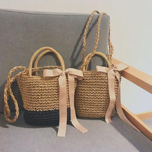 Load image into Gallery viewer, 🔥2019 Must Have Bow-Knot Straw Bag
