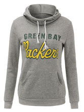 Load image into Gallery viewer, Monogrammed Long-Sleeve Hooded Hoodie