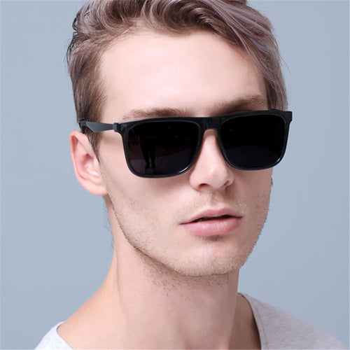 Men's Casual Fashion   Big Box Sunglasses