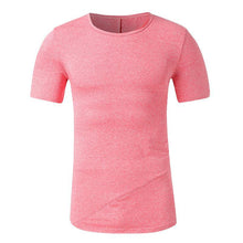 Load image into Gallery viewer, Casual Pure Colour Round Neck T-Shirt