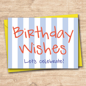Birthday Wishes - Antler Arts