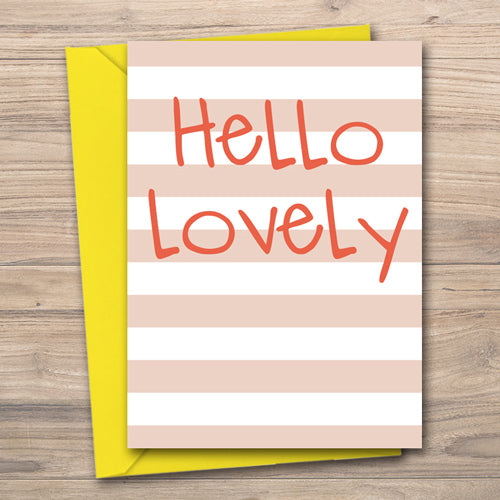 Hello Lovely - Antler Arts