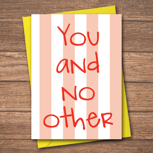 You and no other - Antler Arts