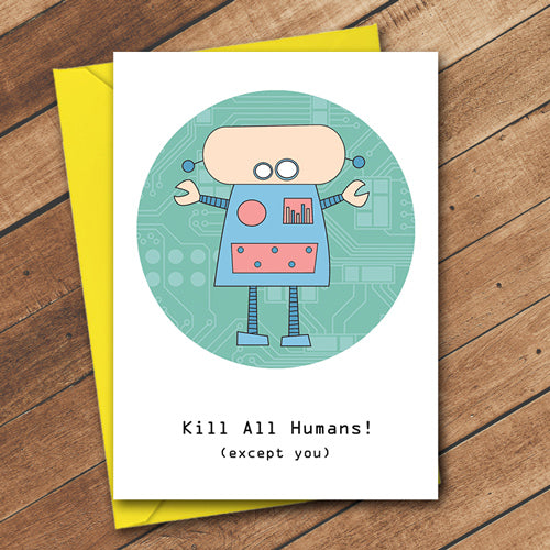 Kill all Humans - Antler Arts