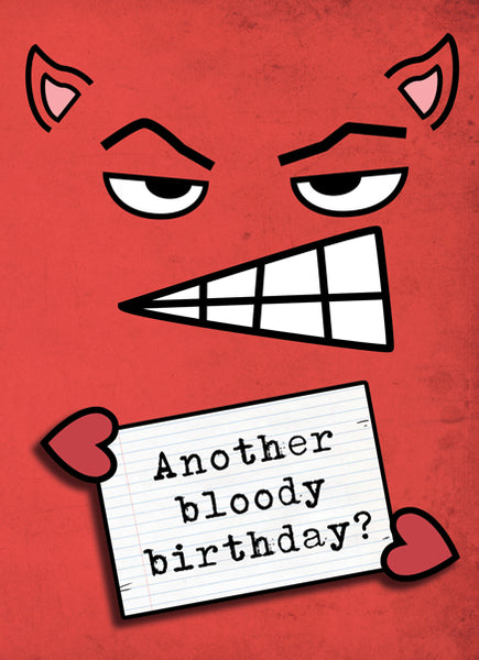 Another Bloody Birthday - Antler Arts