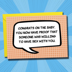 Congrats on the Baby - Antler Arts