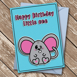 Happy Birthday Little One - Antler Arts