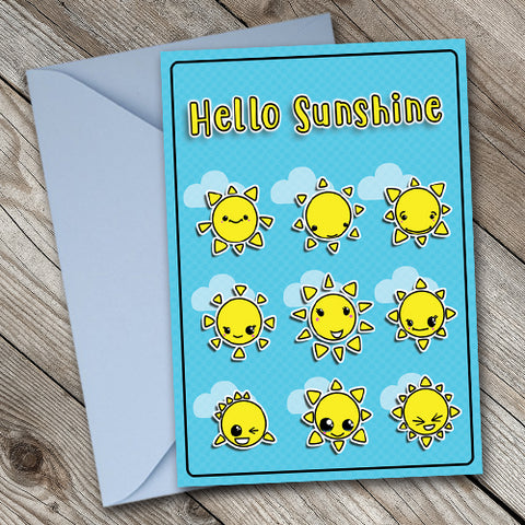 Hello Sunshine - Antler Arts
