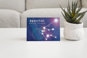 Aquarius - Antler Arts