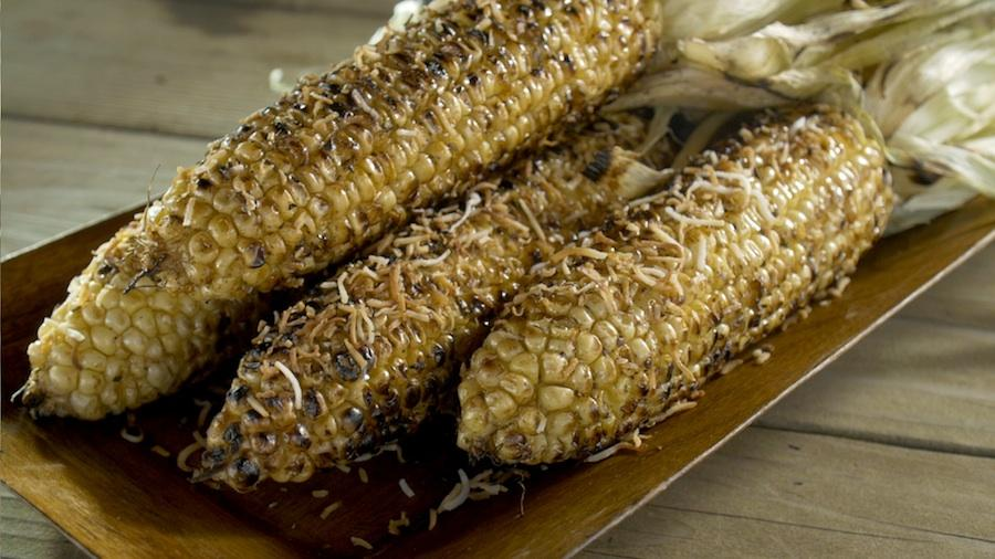 Coconut Grilled Corn - Steven Raichlen Recipe #7