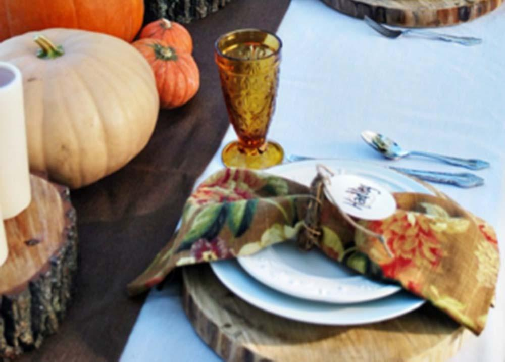 Autumn Table Decor - 4 Easy Centerpieces